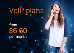 voip plans from $6.60 unlimited australian land lines and australian mobile calls and minutes per month