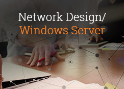 network design and windows server experts in consulting